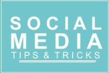 Social Media Tips / Social media, twitter, pinterest, facebook, instagram