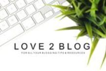 Love 2 Blog / A group board for bloggers to share their latest posts or others which they find interesting