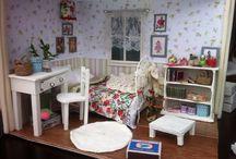 My dollhouse . / Мини комната своими руками.Первый опыт.Первая работа.