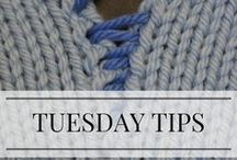 "Tuesday Tips / Photo and video knitting tutorials from my ""Tuesday Tips"" blog posts. Follow for interesting how-tos and tricks."