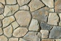 Dressed Field Stone: Cultured Stone® by Boral® / The rugged look of Dressed Fieldstone complements any natural environment. Its rich texture and range of color enhance a multitude of architectural designs.