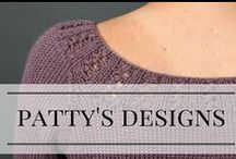 Knits by Patty Lyons / Knitting patterns I've designed for magazines, classes, and books. Click through or visit my website to purchase the patterns!