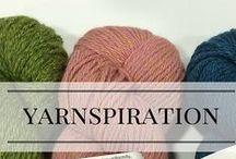 Yarnspiration / Yummy yarns and inspiring eye-candy!