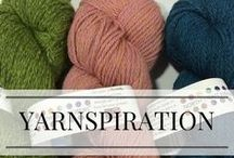 Yarnspiration / Yummy yarns and inspiring eye-candy!