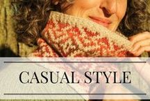 Casual Style / I love easy, wearable clothes and silhouettes. That's what I knit and what I wear day-to-day.