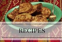 Delicious Recipes / Things I want my husband to cook for me! (He's the cook in the family!)