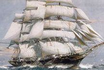 Vintage tallships / Pictures, diagrams, cutaways and illustrations.