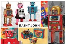 St John Tin Collectables / Saint John tin collectibles are mechanical vintage style collectibles that combine nostalgia and the traditional metal working skills.