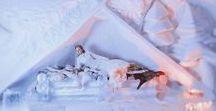 Weddings. Levi Luvattumaa / white weddings, snowcastle