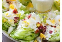 Salads, Veggie and Dressings / Laughing Spatula's favorite salad, veggie and dressing recipes!