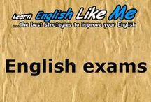 English exams / The best strategies to learn and improve your English.Learn how to improve your English in an easier, faster and more motivating way.