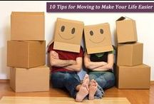 Moving / Make moving easier with handy moving tips and lists!