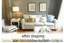 Staging / Stage the interior of your home to create a welcoming atmosphere for everyone!