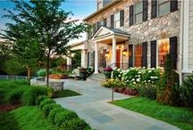 Curb Appeal / Don't judge a book by its cover...Unfortunately, the idiom doesn't apply to selling homes. Inviting curbside exteriors, gardens, and yards make homes standout!