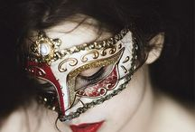"""Masquerade / """"Every face a different shade""""  / by вєℓℓє"""