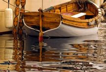 Wooden Boats / Wooden boats, mostly row, runabouts and sail.  / by Adam Graser