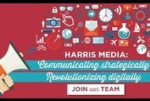 Videos / Harris Media's team of graphic designers and digital media consultants produce engaging, eye-catching videos for our clients' campaigns and causes. www.harrismediallc.com