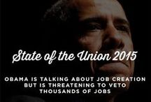 SOTU 2015 / Our team produced a lot of interesting and engaging content for our clients to use during President Obama's 2015 State of the Union Address