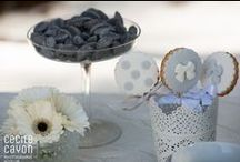 V&B - Mariage en hiver / Un mariage en hiver, hyper tendance !! Ton noir & blanc, douceur absolue