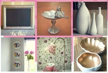 DIY Projects / Get creative at your local Goodwill and turn old products into new ideas!