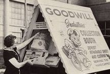 Vintage Goodwill / Check out these old school ads and photos showing just how far back Goodwill Industries goes!