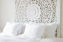 Bedroom / Nieuwe slaapkamer met een inrichting waarbij de energie in de kamer beter is om in te slapen en uit te rusten voor iedere inspirerende dag.