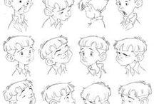 Character Design: boys and teenagers(Diseño de Personajes: Niños y Adolescentes)