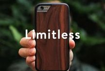 Mous Limitless / Our cases utilize our patent pending AiroShock™ technology for extreme protection and are crafted from high quality real wood, marble, kevlar and leather.