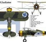 Avioane sub emblema finlandeza