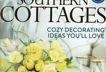 Southern Lady - Southern Cottages / Rural Splendor - Southern farmhouse article by Hoffman Media featuring the interior design of Eric Ross Interiors