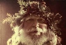Vintage Santa Photos  / A collection of vintage Santa photos (and a few more Santas, just for fun.)    / by Jean Fischer