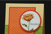 """Thank You Cards with Stampin' Up! / Cards and other projects to simply say """"Thank you!"""" featuring Stampin' Up! products. If you follow this board you'll always have more than only one great idea for your next """"Thank you!"""" project."""