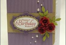 Birthday Projects with Stampin' Up! / Birthday cards and other projects featuring Stampin' Up! products. If you follow this board you'll always have many ideas for cute birthday cards and individual birthday presents.
