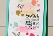 Cards With Quotes / This board collects Stampin' Up! cards with quotes on it. #stampinup #crafting #diy #handmade #cards #basteln #stempeln #potsdam #babelsberg
