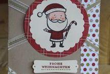 Christmas Projects with Stampin' Up! / Zu Weihnachten verschickt man nicht nur Karten - man verschickt VIELE, SEHR VIELE Karten. Hier gibt es viele Ideen und Anregungen für selbstgebastelte Weihnachtskarten.