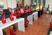 Vietnam-Lacquer-bamboo-sculptures / Lacquer sculpture, made in Vietnam Website: http://bamboolacquer.net Email: sales@bamboolacquer.net
