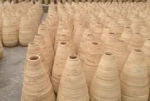 Hand Coiled bamboo vase, made in Vietnam / Table decor vases and floor decor vases, made in Vietnam Website: http://bamboolacquer.net Email: info@catdangcraft.com