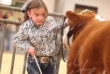 Young Cowboys and Cowgirls / It is exciting to see the next generation step forward and play a role in the agriculture industry. Checkout what our youth is doing everyday!