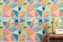 Wallpaper / patterns and colour!