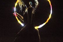 [ LED HOOPING ] / LED hooping photography