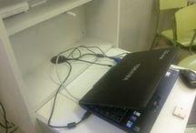Armario rack para el portatil de la pizarra digital / Aplicación y ventajas de este armario rack
