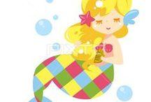 夏祭り_人魚姫