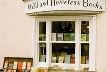 Reading and Writing / Interesting ideas, bookstores, shelves, reading nooks, and writing spaces