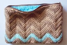 crochet bags & clutches & cases