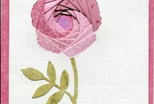 Iris Folding - flowers / by April Buentello