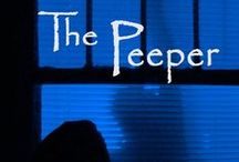 """The Peeper / An unlikely hero, a lonely young man who makes """"friends"""" through dorm windows under cover of darkness. While engaged in his own illegal activities, Elliott Cash sees more than he ever wanted to. The brutal murder of one of his friends. He struggles for a way to tell the police without going to jail—or worse."""