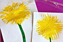 výtvarné techniky,pracovní činnosti / tvoření s dětmi,malování s dětmi