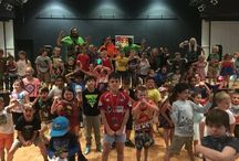 Disco Parties / With your help and kind donations we managed to raise a total of $1066.70 for The KidzWish Foundation with our Kids Disco Event last weekend (29/03) We cannot thank you guys enough! #kidzwish #discoparty #superwrestlingheroes #thankyou
