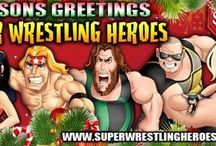 What We Enjoy / Here is a board of somethings that our Super Wrestling Heroes enjoy....see if you can guess which Super Wrestling Hero posts each pin