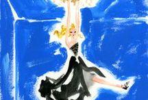 works:Dior 7 / my artworks for Dior Addict fragrance   Film (storyboard 絵コンテ)